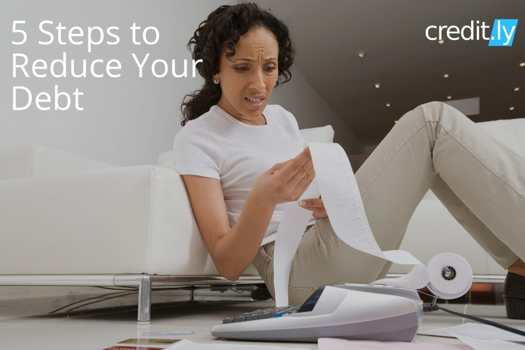 Credit.ly - Bad Credit Car Loans- 5 Steps to Reduce Your Debt: Do-it-Yourself Debt Reduction