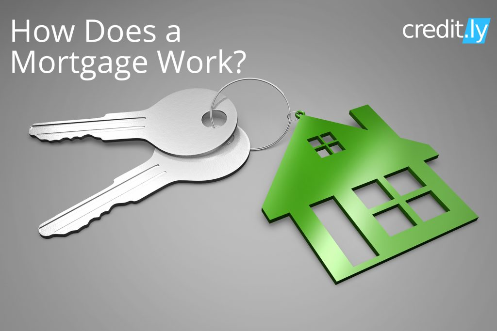 Credit.ly - How Can You Improve Your Credit Score - How Does a Mortgage Work?