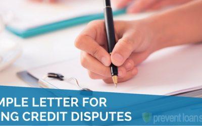 Dispute Letters / Info