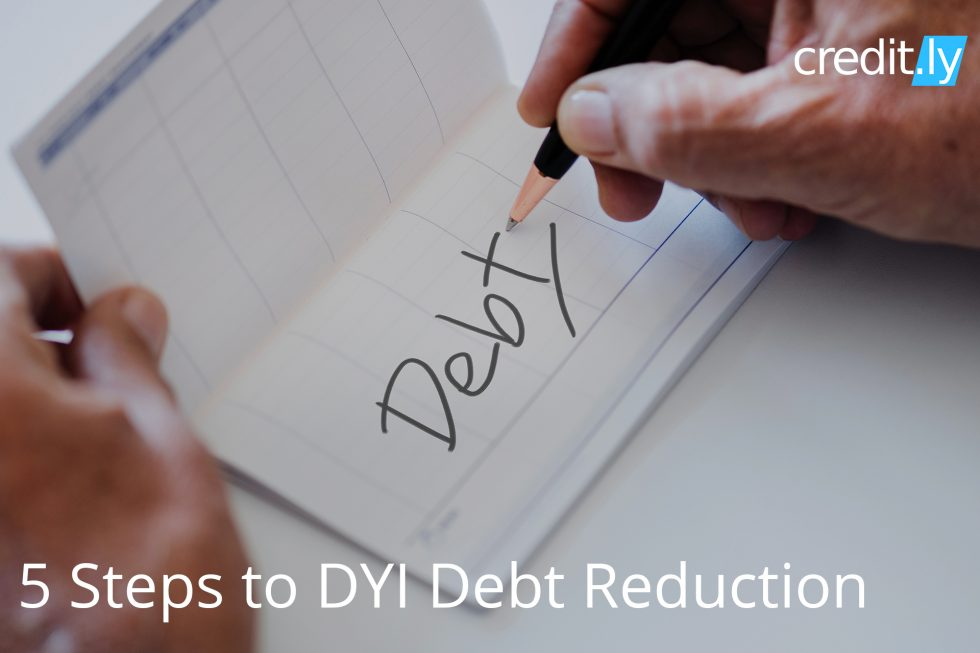 Credit.ly - Check Credit Report Online - 5 Steps to DYI Debt Reduction