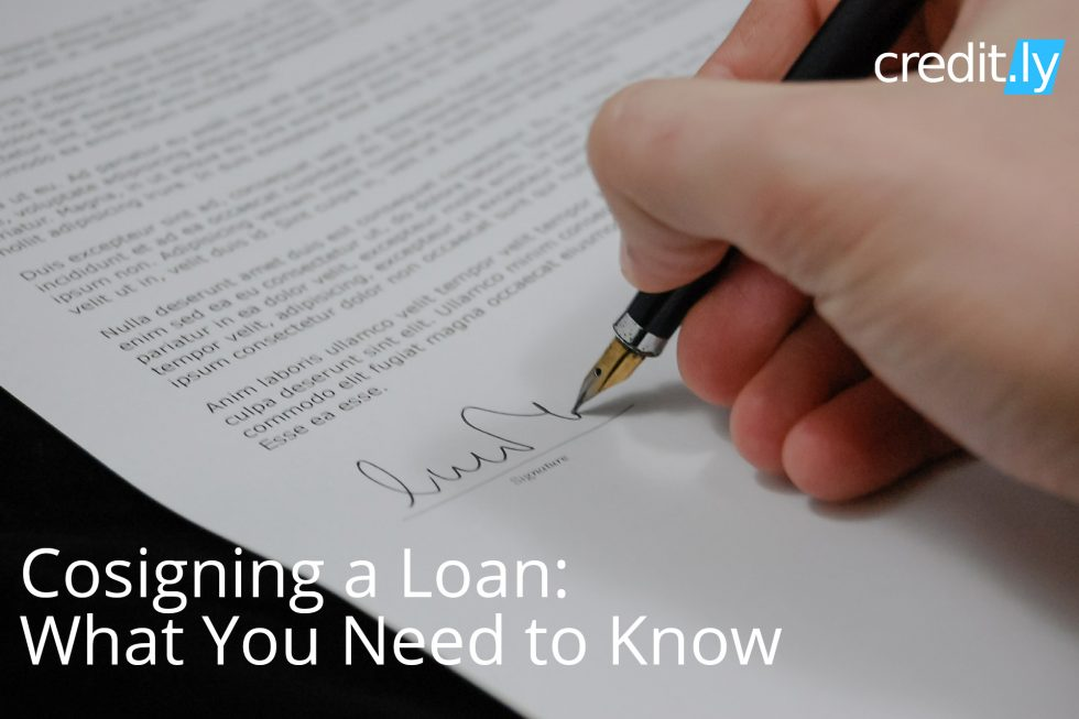Cosigning a Loan: What You Need to Know