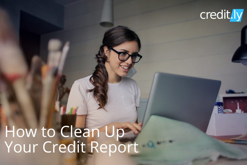 Credit.ly - Get a Free Credit Card - How to Clean Up Your Credit Report