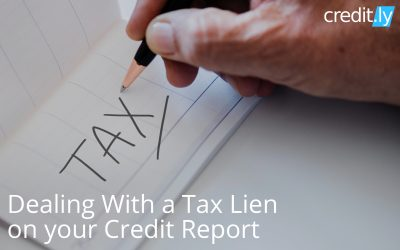 Dealing With a Tax Lien on your Credit Report
